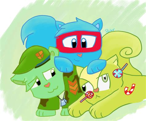 Splendid, Flippy, And Nutty By Thebetaedition On Deviantart