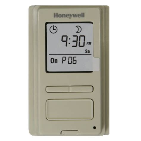 honeywell programmable light switch timers automatic lights and 7 day programmable light