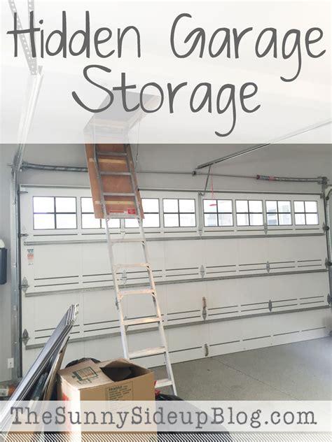 hidden garage storage the sunny side up blog