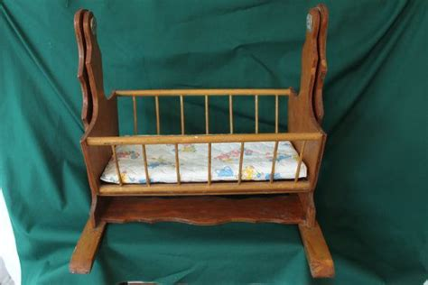 rocking doll cradle plans woodworking projects plans