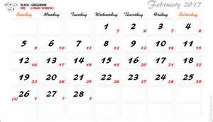 Lunar Calendar 2017 Moon Phases