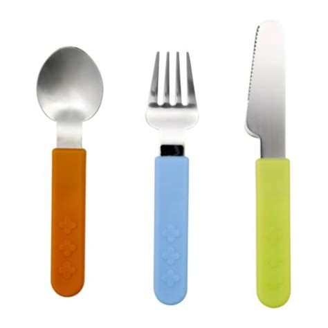 childrens kitchen knives smaska 3 cutlery set ikea