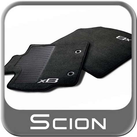 new 2013 2015 scion xb carpeted floor mats from