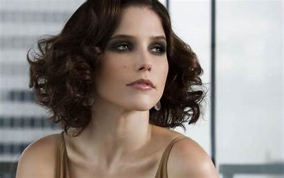Bush Sophia Wallpapers Hill Tree Widescreen Actress