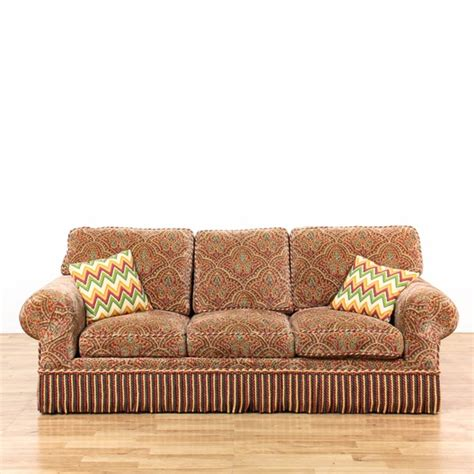 Sleeper Sofas Los Angeles by Paisley Fringe Upholstered Sleeper Sofa Loveseat