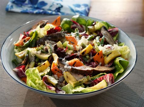 recipes for chopped grilled chopped vegetable salad recipe valerie bertinelli food network