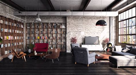 Loft Industrial Style by How To Create A Modern Interior In Loft Style