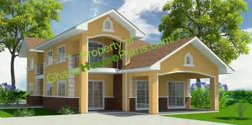 five bedroom house house plans 5 bedroom storey family house in accra