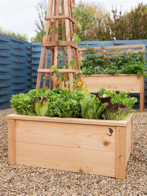 Elevated Garden by Cedarlast Raised Garden Bed 2x3 Gardener S Supply