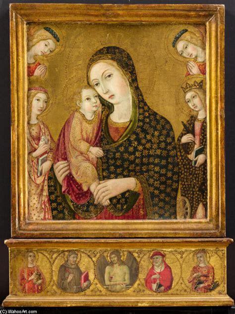 madonna col bambino con il cristo morto agnese e
