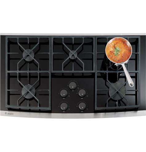 zgukskss ge monogram  gas  glass cooktop monogram appliances