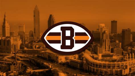 american football cleveland browns emblem logo nfl