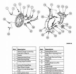30 Ford Ranger Rear Brake Diagram