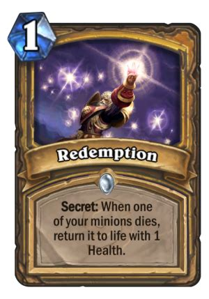 Deck Redemption Time by Redemption Hearthstone Card