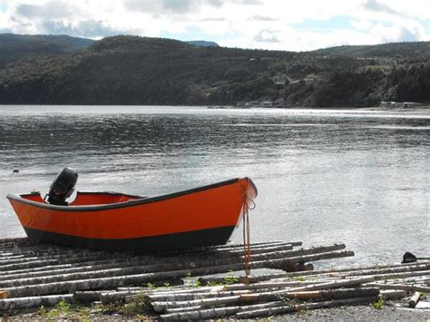 Dory Flat Bottom Boat by Gorgeous Boat Excellent Condition Newfoundland Dory
