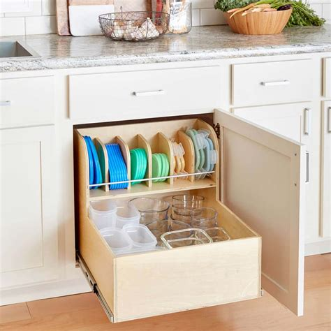tupperware organizer  budget decorator