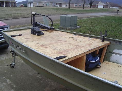 Bass Boat Garage Ideas by 37 Best Images About Boat Mods On Jon Boat