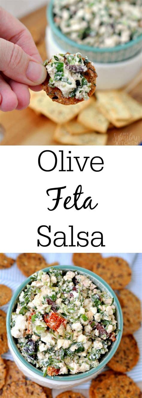 mediterranean feta salsa appetizerssnacksjellies