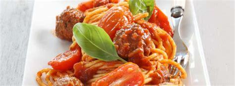 bonne cuisine rapide spaghettis aux boulettes de viande facile et d 233 licieux