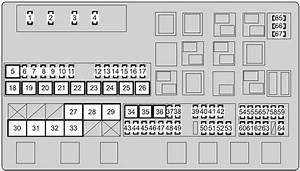 Toyota Land Cruiser 200  2007 - 2017  - Fuse Box Diagram