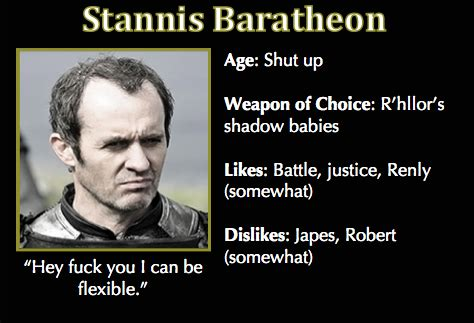 Stannis Baratheon Memes - bending knees tumblr