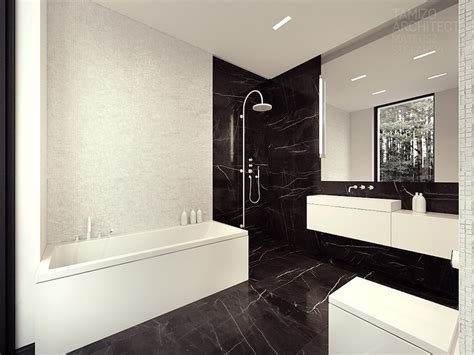Black marble bathroom, black and white marble bathroom