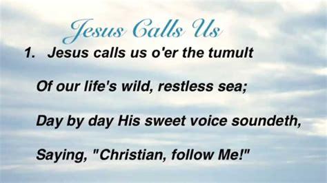 Jesus Calls Us O'er The Tumult (baptist Hymnal #293)