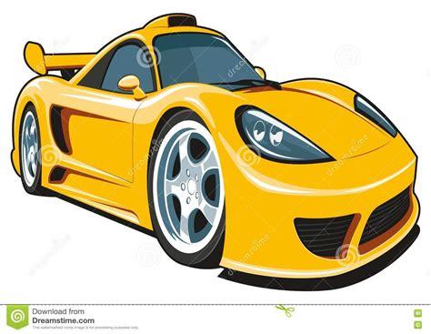 Cartoon Sports Car Images Adultcartoonco