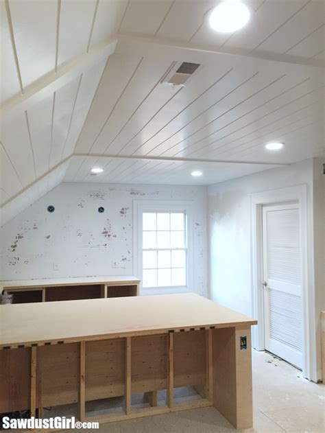 basement floor plans ideas v groove plywood plank ceiling sawdust