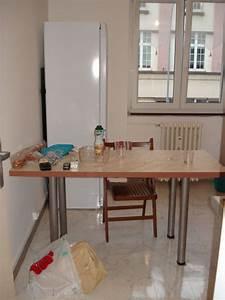 Fabriquer Une Table De Cuisine Avec Un Plan De Travail : fabriquer une table plan de travail forum d coration mobilier syst me d ~ Nature-et-papiers.com Idées de Décoration