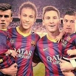 Hahaha I laughed more than I should've ! Neymar, Messi ...