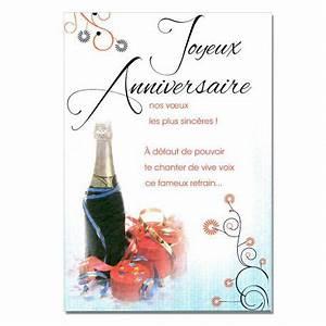 Image Champagne Anniversaire : cartes mots du bonheur anniversaire tous ges champagne une carte pour toi ~ Medecine-chirurgie-esthetiques.com Avis de Voitures