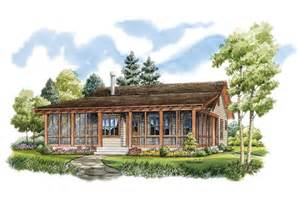 Country Cabin Floor Plans by Eplans Low Country House Plan Rustic Sportsman Cabin