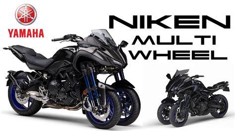 Yamaha Niken Multi Wheel Motorcycle