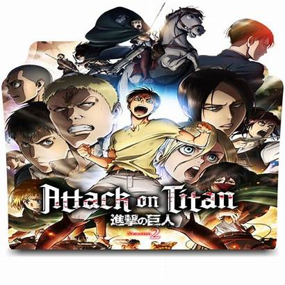 Folder Icon Kyojin Shingeki Season Favourites