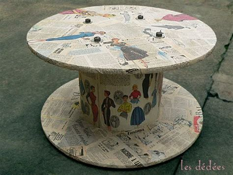 Garden Stool On Wheels Uk by Top 20 D I Y Cool Cable Spool Coffee Table Hack Ideas