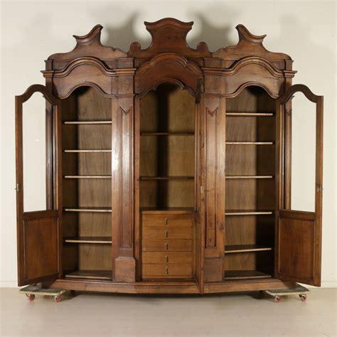 libreria grande grande libreria legni antichi mobili in stile bottega