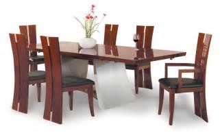 wood dining room tables trellischicago