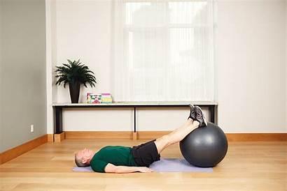 Leg Curl Hamstring Single Strength Ball Stability