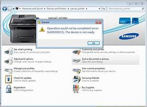 windows 7 scanning a document device not ready error With document scanner software for windows 7