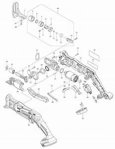 Makita Xrj01z Parts List