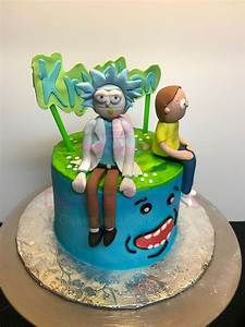 Rick And Morty - CakeCentral com