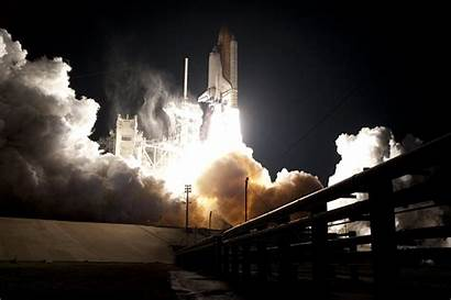 Shuttle Night Nasa Launch Endeavour Space Sts
