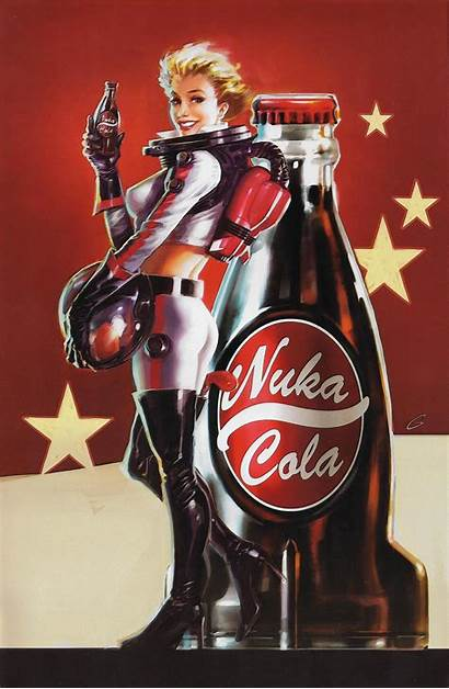 Nuka Fallout Cola Poster Posters Scan Imgur