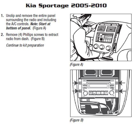 2007 kia sportage stereo wiring diagram 2007 kia sportage installation parts harness wires kits bluetooth iphone tools wire