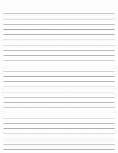 Lined Paper for Kids | Kiddo Shelter | Notebook Paper ...