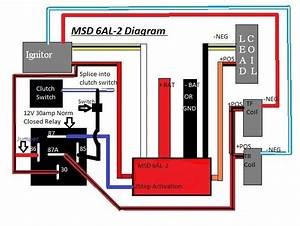 Msd 6al-2 Install On Leading Side Only