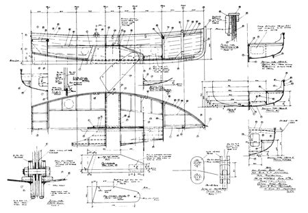 Boat Deck Explanation by Reading The Plans And Lofting The Hull Shapes Captain