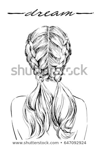 french braid stock images royalty  images vectors