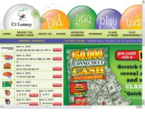 Ctlottery.org: CT Lottery Official Web Site